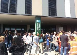 Inaugurazione dell'ospedale di Prato