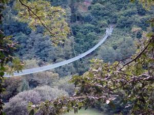 La Giunta di San Marcelloè tutta... un ponte sospeso