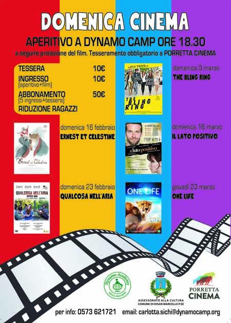 DOMENICA CINEMA ALLA DYNAMO CAMP