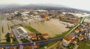Ultima alluvione nella Piana pistoiese