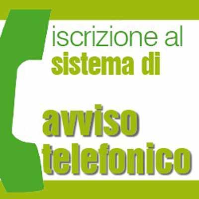 ALLERTA TELEFONICO ANCHE PER IL COMUNE DI AGLIANA
