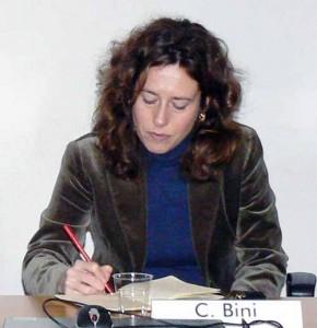L'On. Caterina Bini