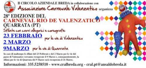 VALENZATICO, IL CARNEVALE COMPIE 28 ANNI