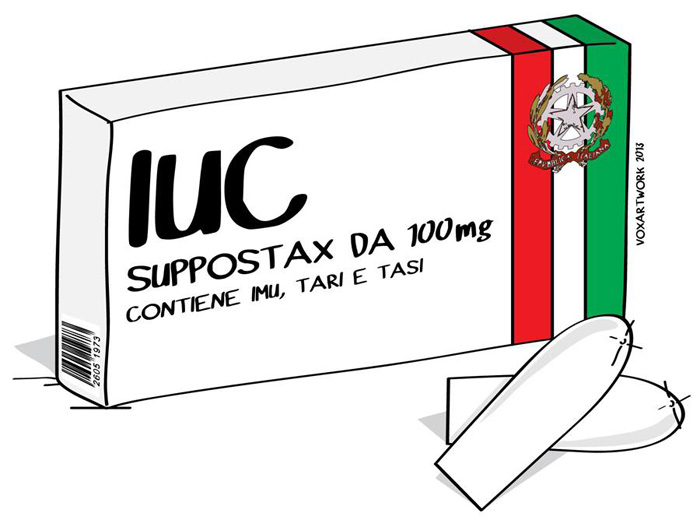 IUC, LE COSE ASSURDE ALL'ITALIANA