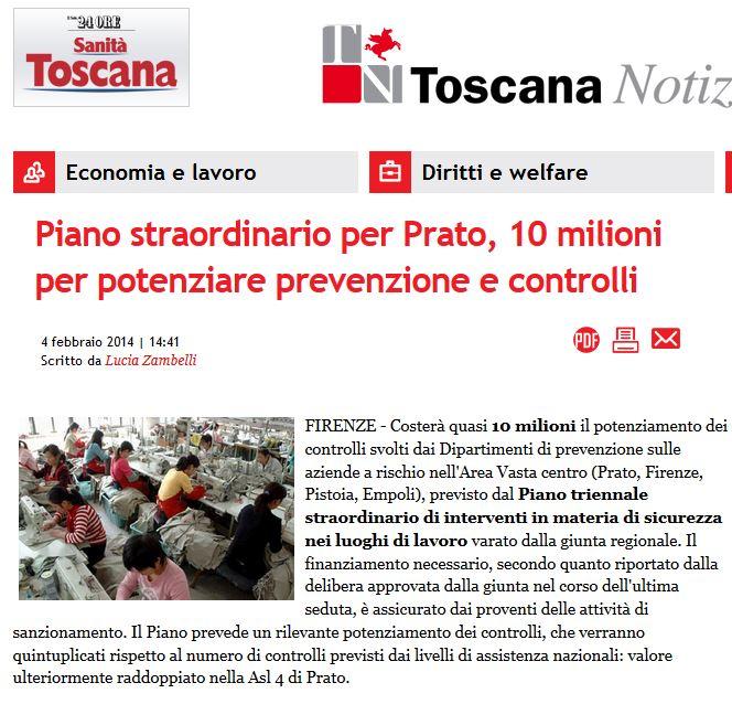 PIANO STRAORDINARIO PER PRATO, 10 MILIONI PER POTENZIARE PREVENZIONE E CONTROLLI