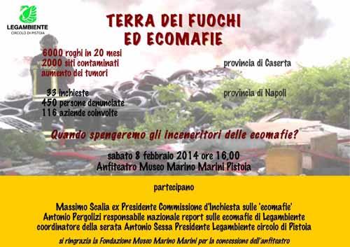 """MUSEO MARINI, """"TERRA DEI FUOCHI ED ECOMAFIE"""""""