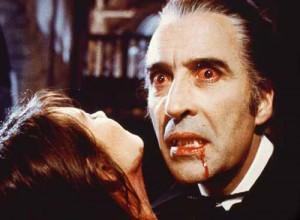 Christopher Lee in Dracula (1958)