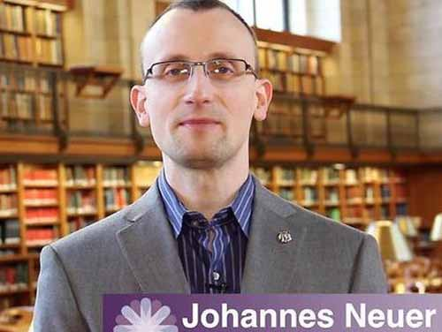 JOHANNES NEUER ALLA BIBLIOTECA SAN GIORGIO