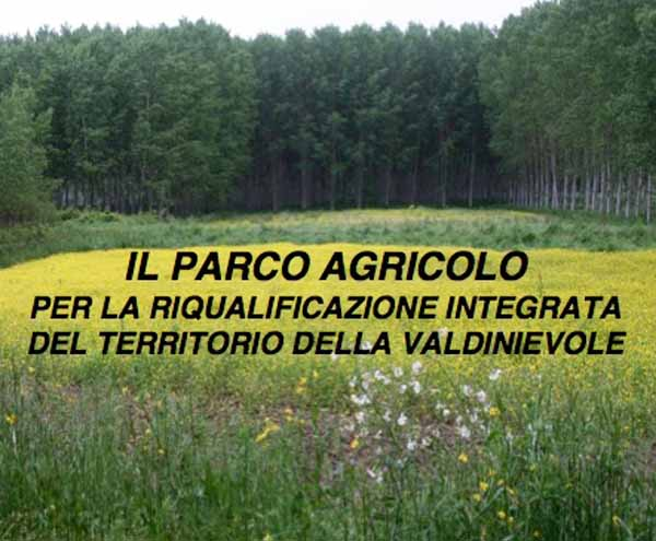 """""""PARCO AGRICOLO DELLA VALDINIEVOLE"""", SE NE PARLA AL CIRCOLO ARCI DI MARGINE COPERTA"""