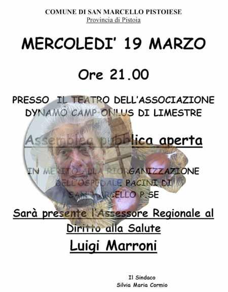 CASO PACINI, MARRONI TORNA IN MONTAGNA
