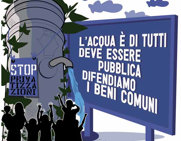 """""""ACQUA BENE COMUNE PISTOIA-VALDINIEVOLE"""" SULLE REGIONALI 2015"""