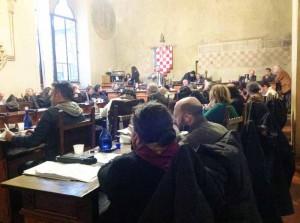 Il Consiglio Comunale in seduta