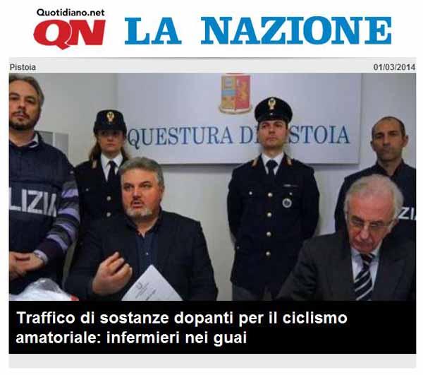 INDAGINE DELLA POLIZIA SU DIPENDENTI DELLA ASL 3