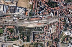 Mappa area stazione