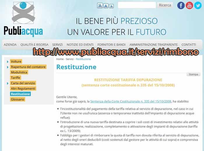RIMBORSI PUBLIACQUA, ENTRO METÀ AGOSTO LA REVISIONE DEI DATABASE