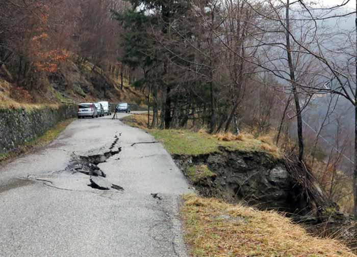 ODG SULLE STRADE DI SAMBUCA DEVASTATE DALLE ULTIME PRECIPITAZIONI