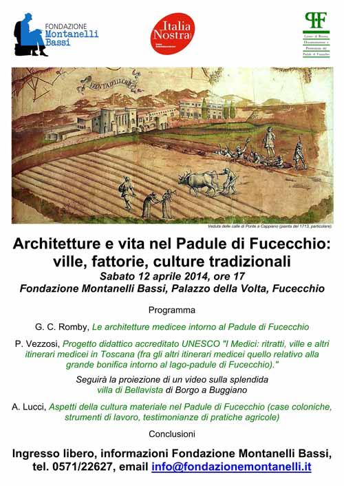 ARCHITETTURE E VITA NEL PADULE DI FUCECCHIO