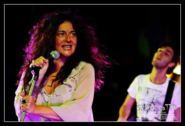 """ARIANNA ANTINORI IN CONCERTO AL """"SANTOMATO LIVE"""""""