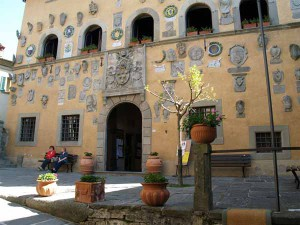 Il Palazzo comunale di Cutigliano