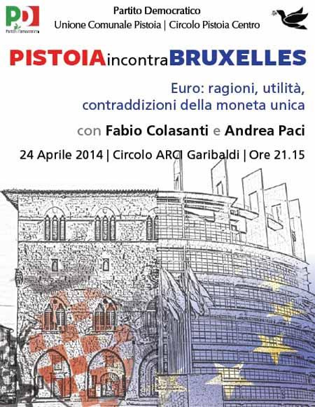 PISTOIA INCONTRA BRUXELLES