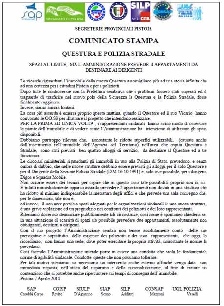 QUESTURA E POLIZIA STRADALE, SPAZI AL LIMITE