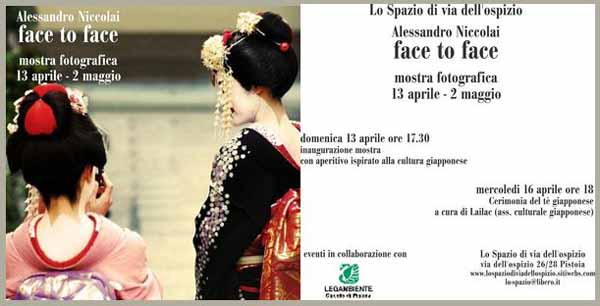 """""""FACE TO FACE"""", LE FOTO DI ALESSANDRO NICCOLAI"""