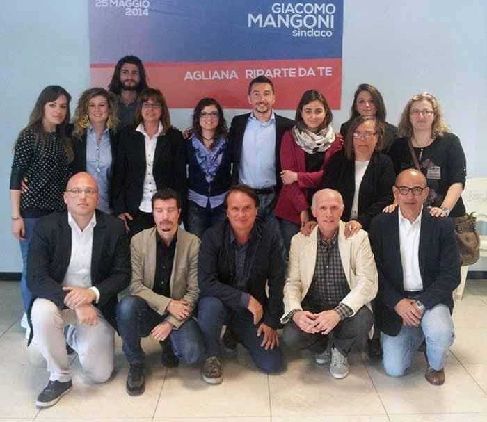 ECCO LA SQUADRA DI GIACOMO MANGONI