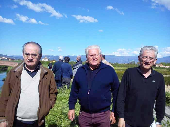 FERRUCCIA, PARTONO I LAVORI DELL'ARGINE DELL'OMBRONE
