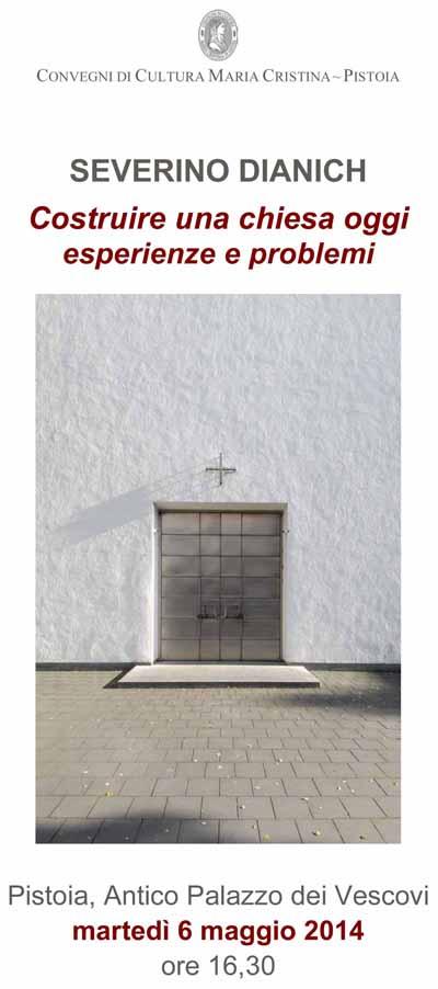 ARCHITETTURA E TEOLOGIA, INCONTRO CON SEVERINO DIANICH