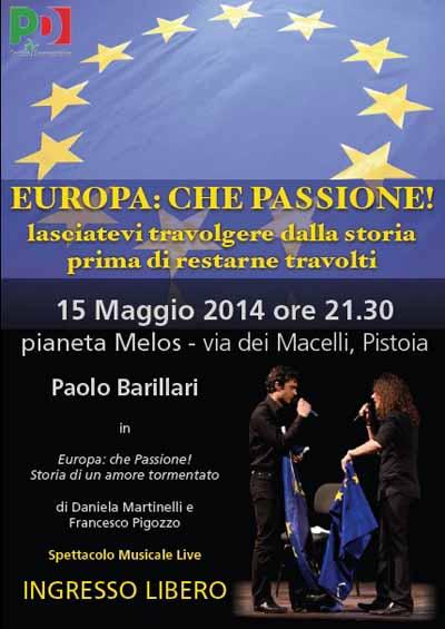 «EUROPA CHE PASSIONE!» STORIA DI UN AMORE TORMENTATO