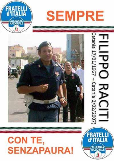 FDI-AN: «SEMPRE A FIANCO DELLE FORZE DELL'ORDINE»