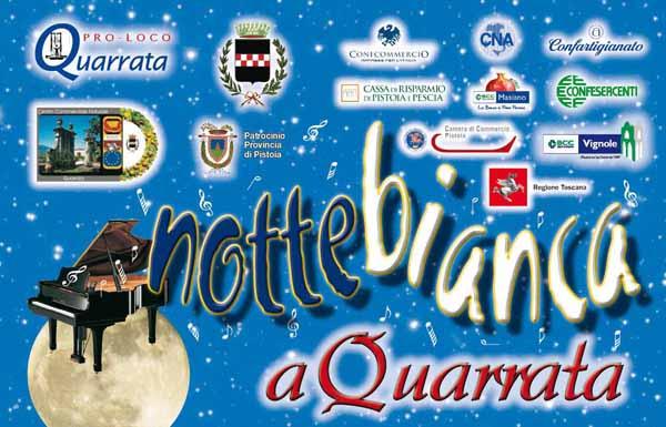 QUARRATA. NOTTE BIANCA 2014
