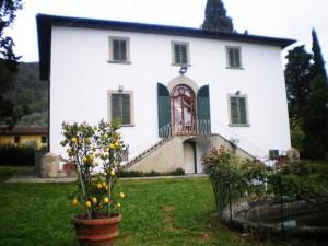 Villa di Groppoli a Pistoia