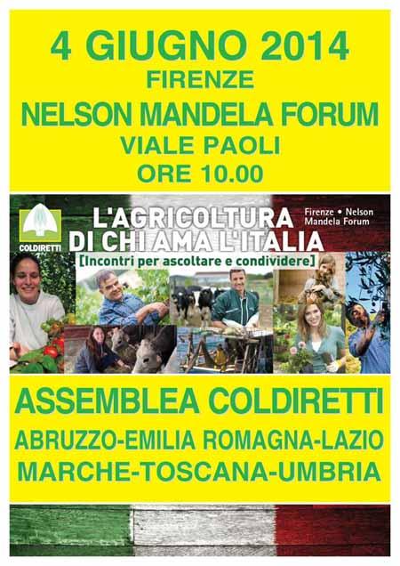 AGRICOLTORI PISTOIESI ALL'ASSEMBLEA CENTRO-ITALIA DI COLDIRETTI