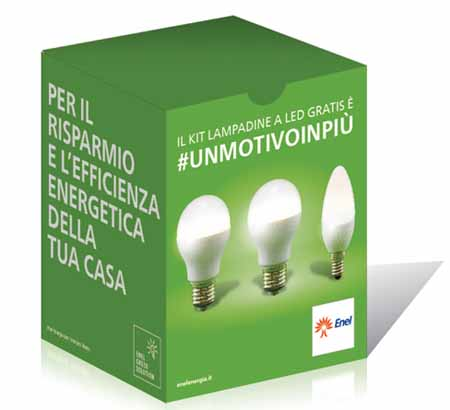 ENEL. LAMPADE A LED ANCHE A PISTOIA