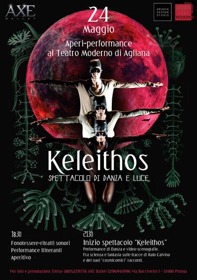 """KELEITHOS, SPETTACOLO DI DANZA E LUCE ISPIRATO A """"LE COSMICOMICHE"""" DI CALVINO"""