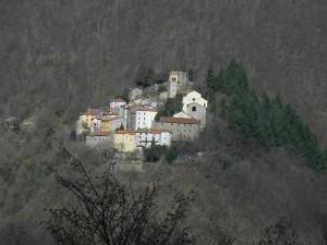Un'immagine del borgo della Sambuca