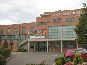 La sede della Misericordia di Agliana