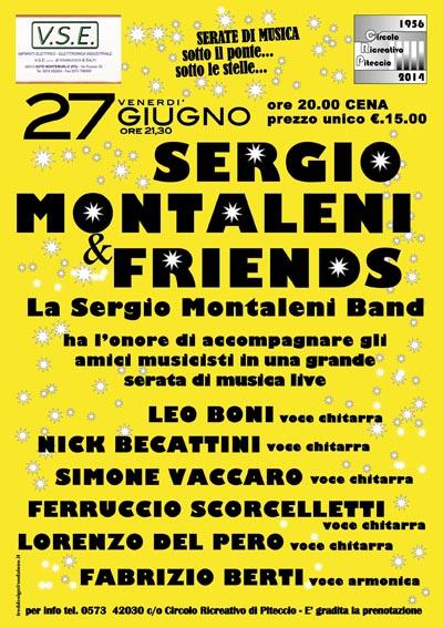 SERGIO MONTALENI & FRIENDS A PITECCIO