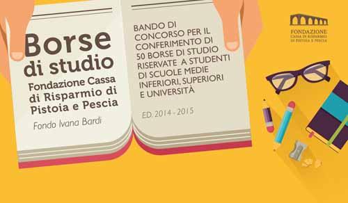 FONDO IVANA BARDI, 50 BORSE DI STUDIO PER STUDENTI MERITEVOLI