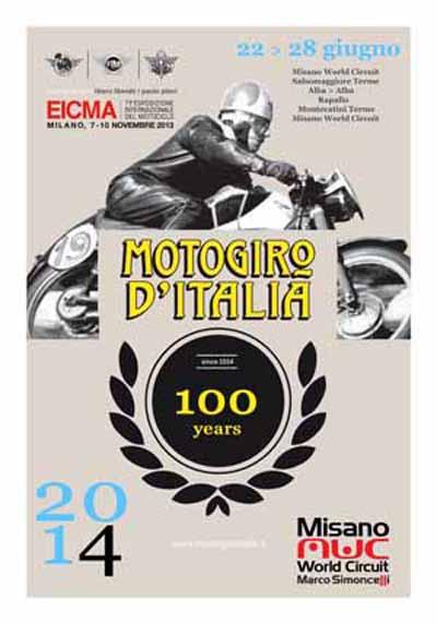MOTOGIRO D'ITALIA 2014