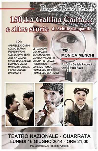 150 LA GALLINA CANTA… E ALTRE STORIE