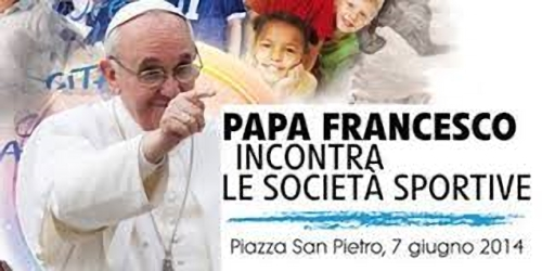 SPORTIVI DELL'ATLETICA DA PAPA FRANCESCO