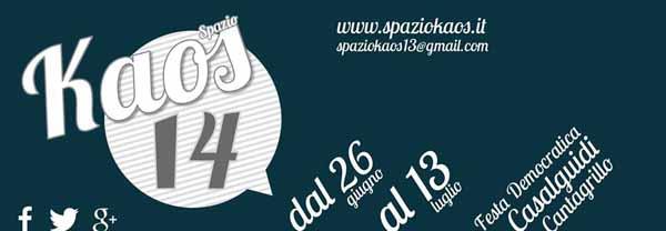 A CASALGUIDI TORNA «SPAZIO KAOS 14»