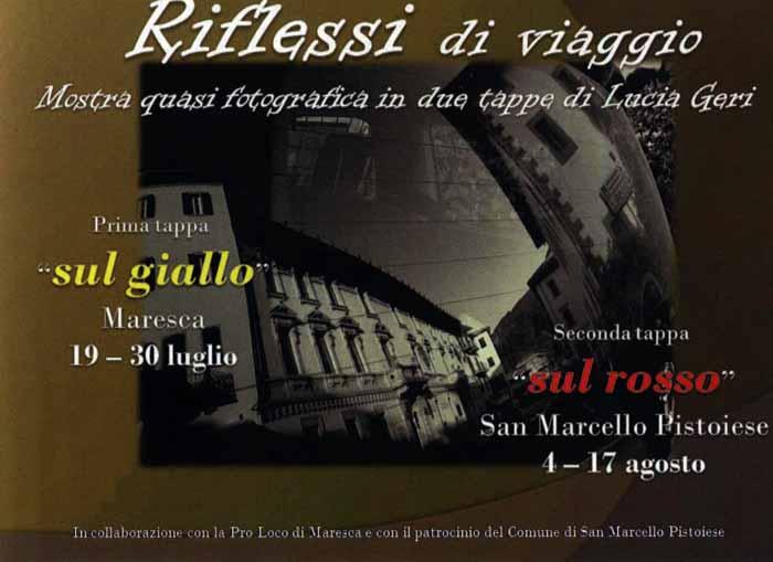 «RIFLESSI DI VIAGGIO», MOSTRA PIÙ CHE FOTOGRAFICA