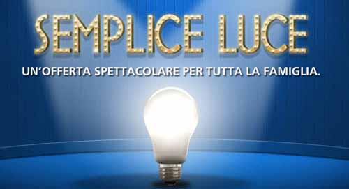 """""""SEMPLICE LUCE"""", LA NUOVA BOLLETTA DI ENEL ENERGIA"""