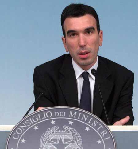 IL MINISTRO MAURIZIO MARTINA A PISTOIA