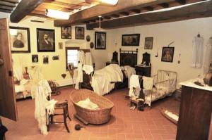Una camera da letto alla Casa di Zela