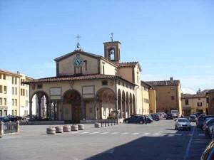 Piazza Giusti a Monsummano