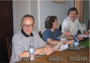 Ancora un'immagine della conferenza di San Marcello